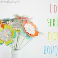 A Sweet Bouquet {DIY Paper Flowers}