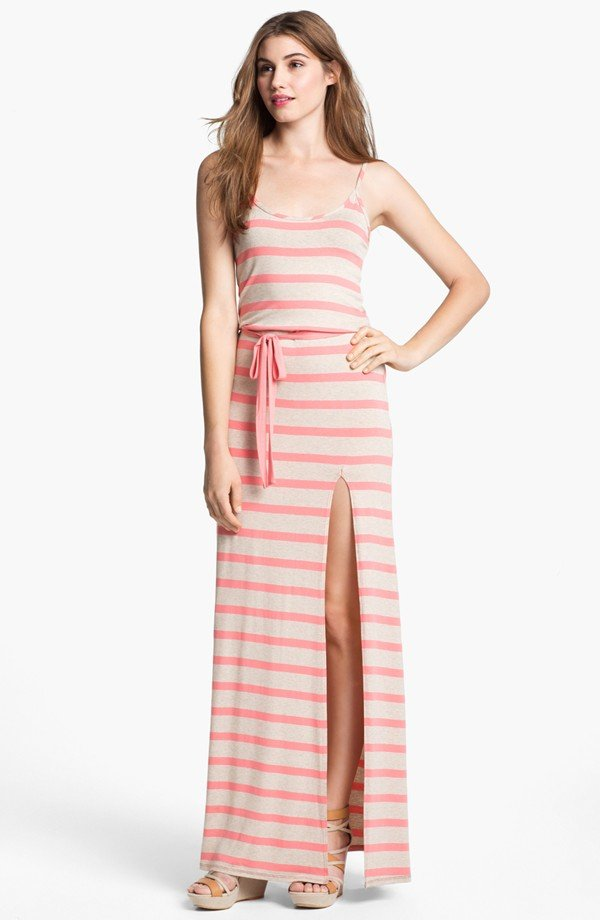 LAmade Belted Maxi Dress