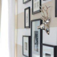 Bonus Room Update: Gallery Wall & Bookcase Styling