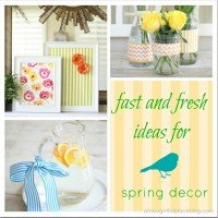 Fast & Fresh Ideas for Simple Spring Decor