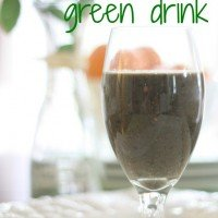 Start the Morning Off Right {Easy Green Drink}