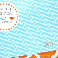 Getting Organized: Great Planner