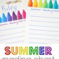 Reading Chart: Summer Book List