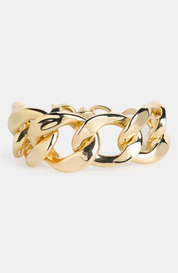 Natasha Couture 'Large' Chain Link Bracelet
