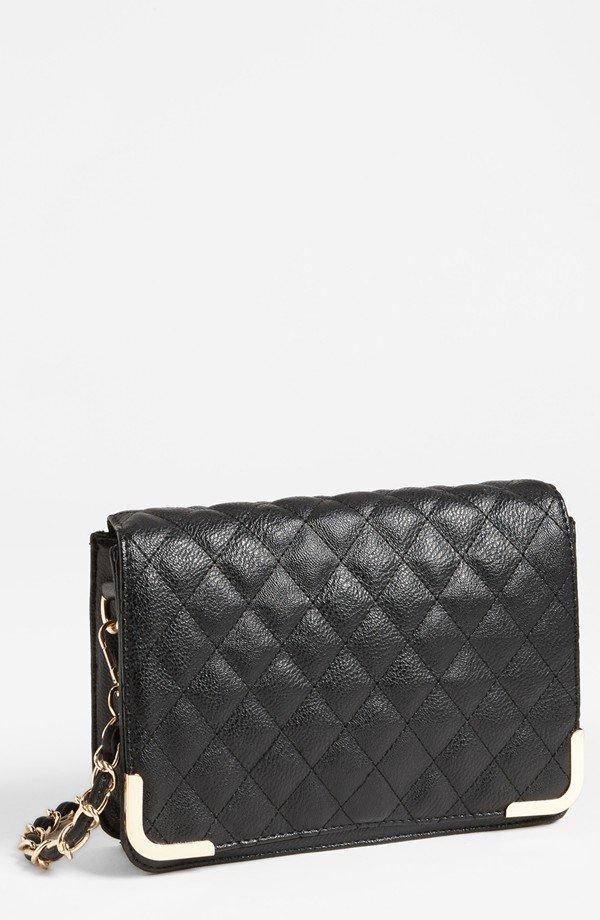 NB Handbags Quilted Crossbody Bag