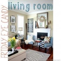 Living Room Plans & An Eye Candy Search