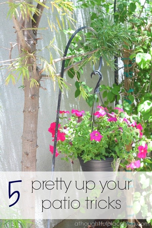 5 Tips for a Pretty Patio - A Thoughtful Place on Pretty Patio Ideas id=95732