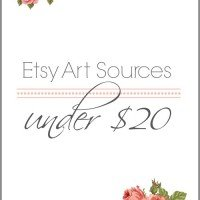 Art Under $20 | Bright Additions to Any Room