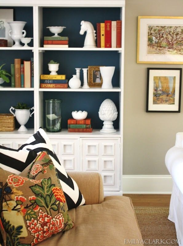 Five Ways to Style Bookcases - A Thoughtful Place