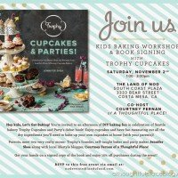 Baking Party With The Land of Nod & Trophy Cupcakes