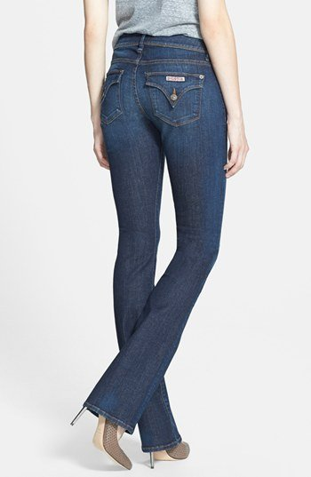 Hudson Jeans 'Beth' Mid Rise Baby Bootcut Jeans (Nightfall)