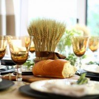 Rustic Fall Table: Happy Thanksgiving