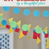 DIY Garland: Family Playroom Update