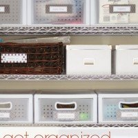 Organized Garage: Craft & Project Supplies