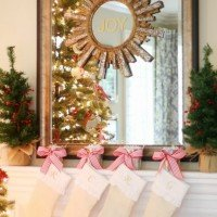 Christmas Mantel: Simple & Traditional
