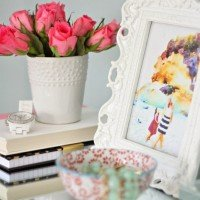 Styling Spaces with Watercolor Prints