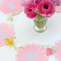 Spring Flower Banner: A Simple DIY