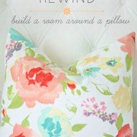 Design Rewind: Build a Room Around a Pillow