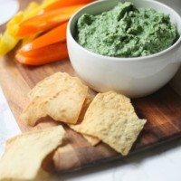Let's Skinny Dip: Parmesan Spinach Dip