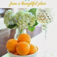Simple Ideas for Spring: A Round-Up