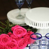 Five Ways To Make Setting a Pretty Table Easier