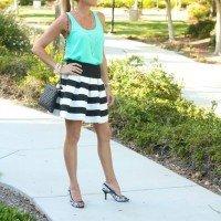 Saturday Shopping: Stripes + Mint