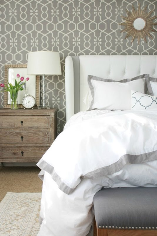 Master bedroom layers of bedding a thoughtful place Master bedroom bed linens