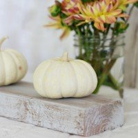 Fall Décor: Vintage Pumpkin Display
