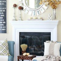 Fall Mantel & Vintage Décor Giveaway