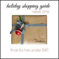 Holiday Gift Guide: Week One