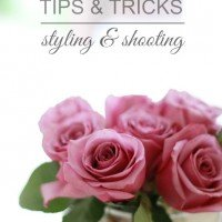 Blogger Tips & Tricks | Styling & Shooting