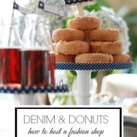 Fashion Shop & Swap | Denim & Donuts