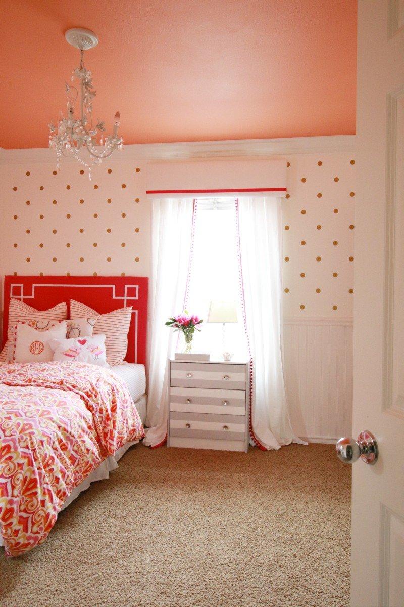 bedroom coral