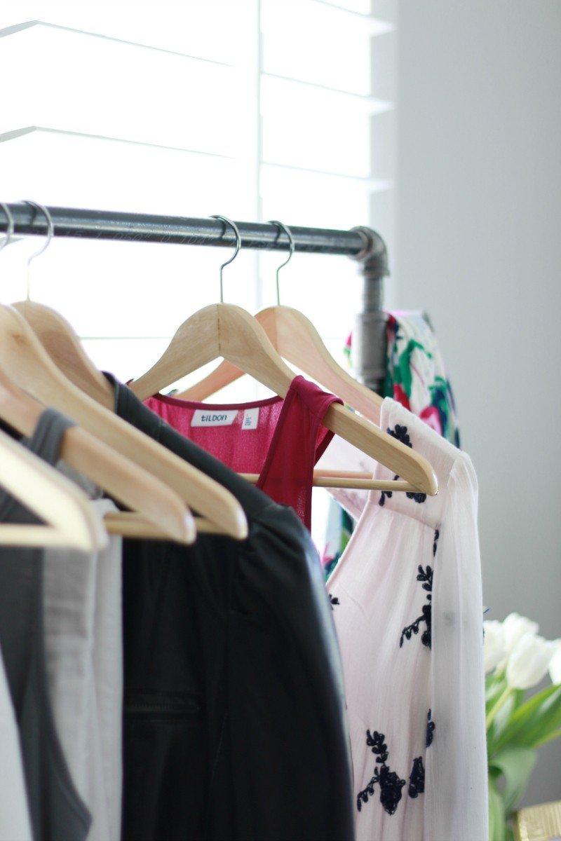 garmet rack dresses