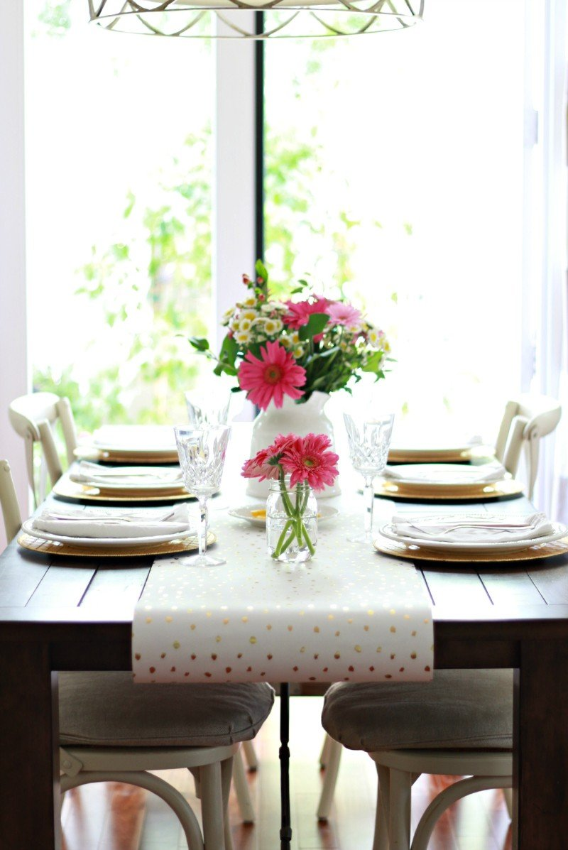 spring table from a thoughtful place