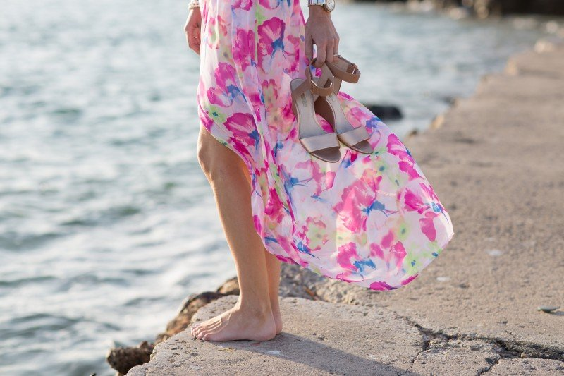 floral maxi from a thoughtful place