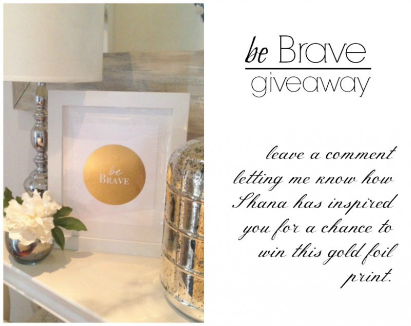 be brave giveaway