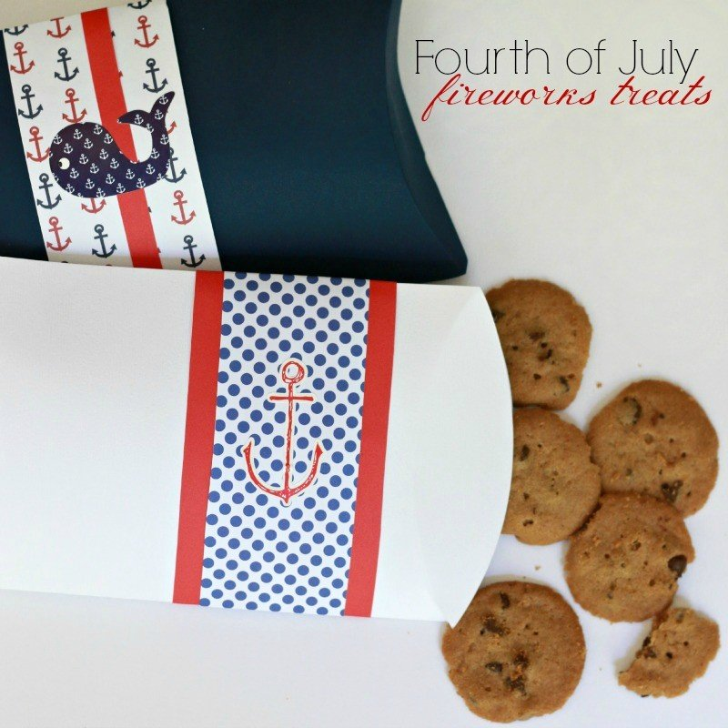 May The Fourth Be With You Treats: Fourth Of July Treat Boxes