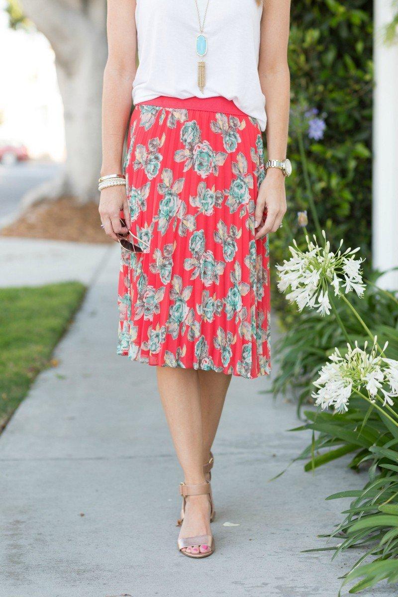 floral skirt atp