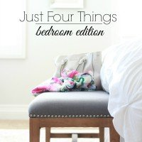 Just Four Things | Submit a Space
