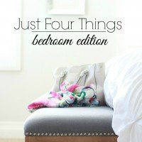 Just Four Things | Bedding