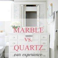 marble vs. quartz