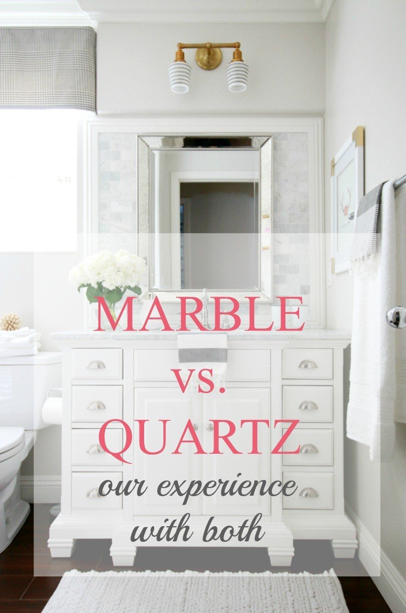 Marble vs. Quartz - A Thoughtful Place