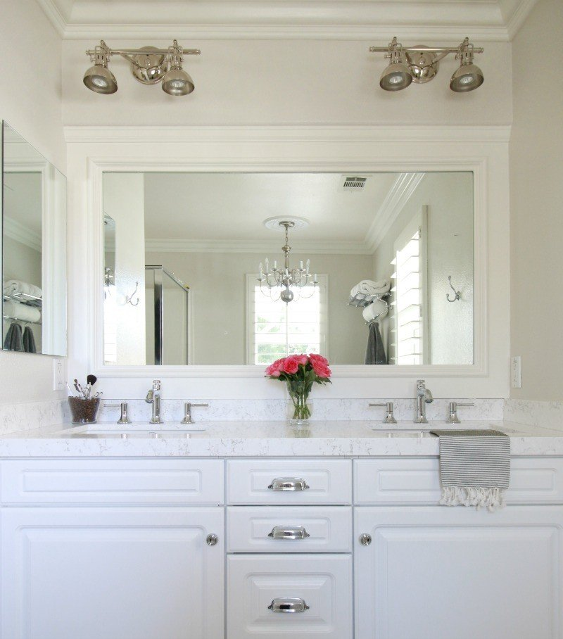 Bathroom Quartz marble vs. quartz - a thoughtful place
