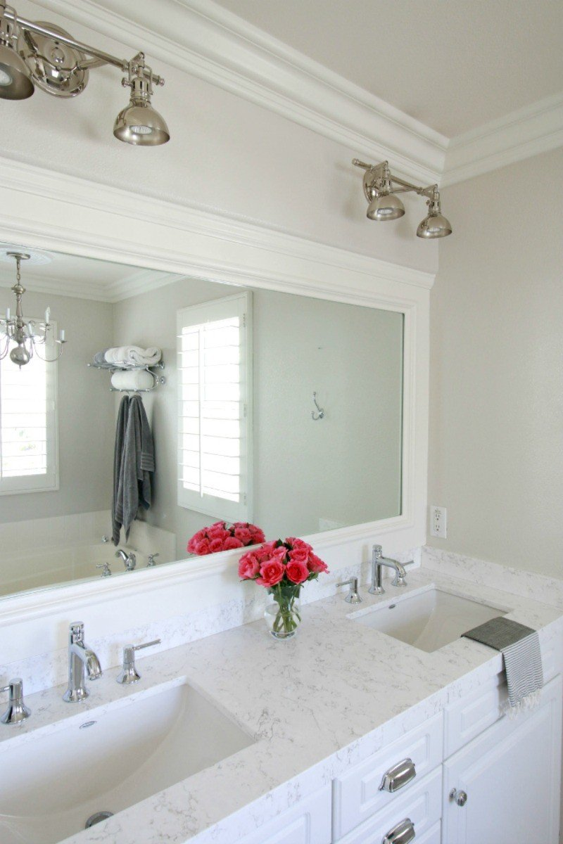 Marble vs quartz a thoughtful place for Bathroom ideas with quartz