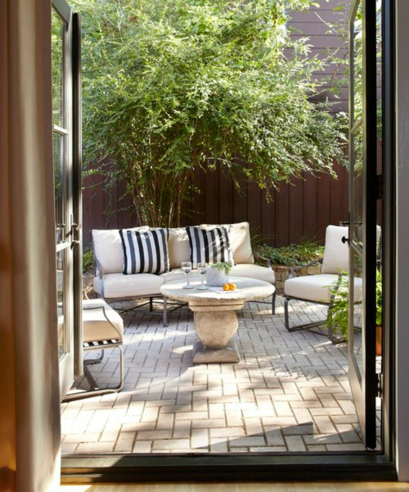 Small Space | Patio Inspiration - A Thoughtful Place