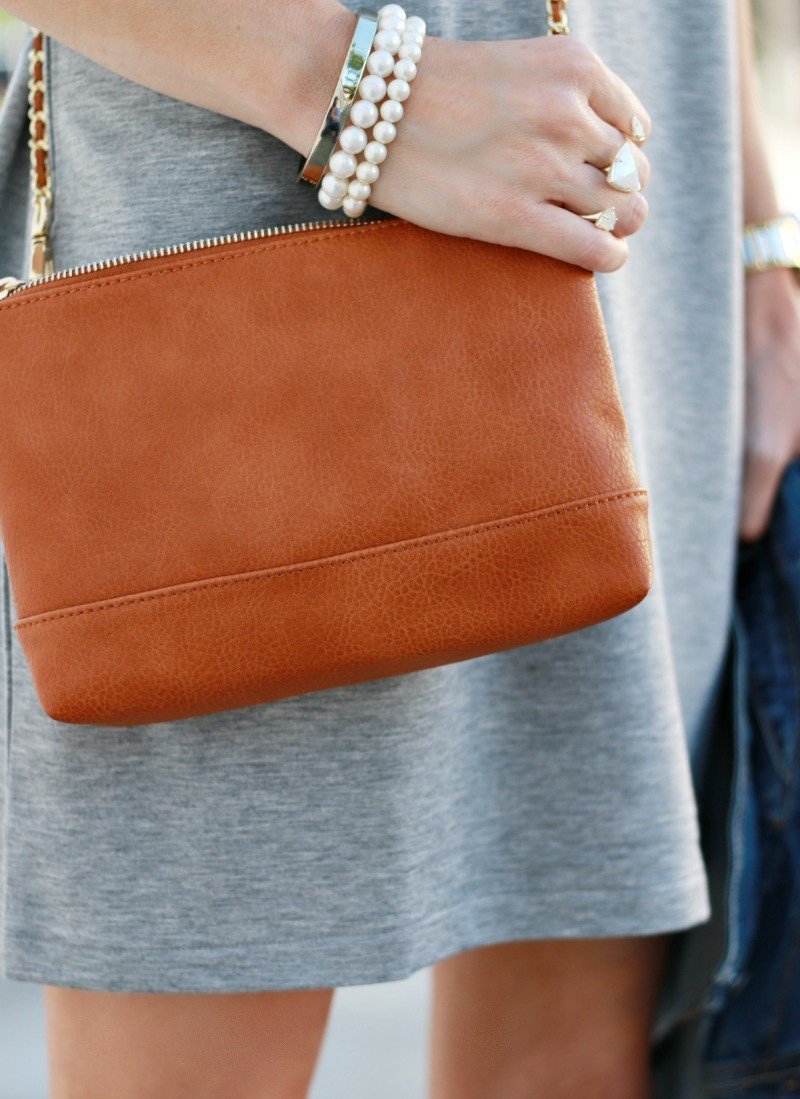 cognac bag