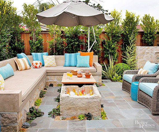 Patio Inspiration - A Thoughtful Place
