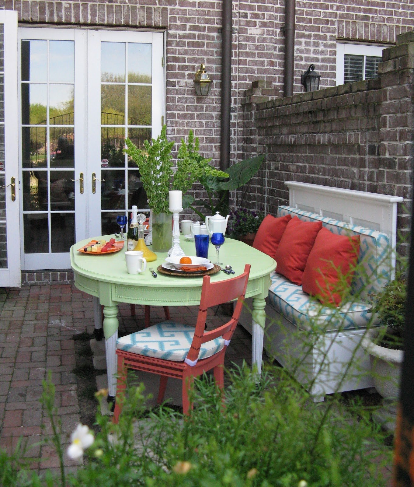 Small outdoor patio decorating ideas - City Garden Patio Livable Landscapes Wyndmoor Pa Small Small Patio Decorating Ideas