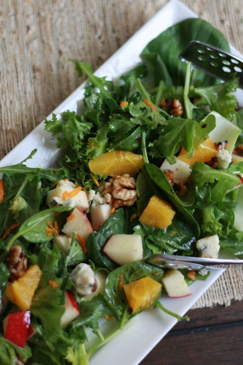 orange and roquefort salad